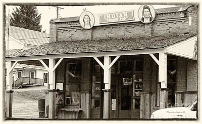 Indian Trading Post Virginia City Montana 02 Art Print by Thomas Woolworth