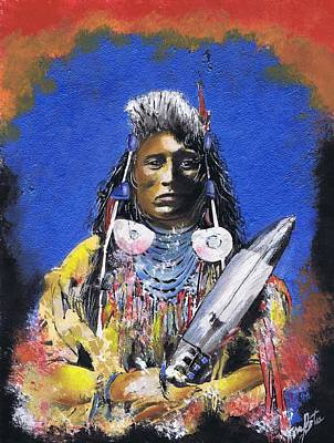 Indian Warrior 1 Art Print