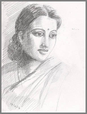 Indian Woman Art Print
