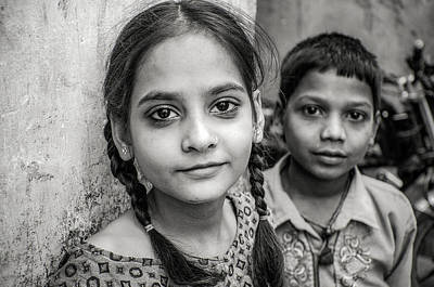 Photograph - Indian Youth by Valerie Rosen
