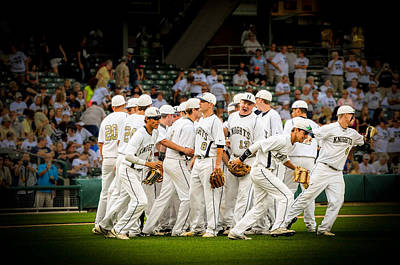 Photograph - Indiana 2013 Class 3a State Baseball Champions by Gene Sherrill