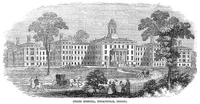 Painting - Indiana Asylum, 1854 by Granger