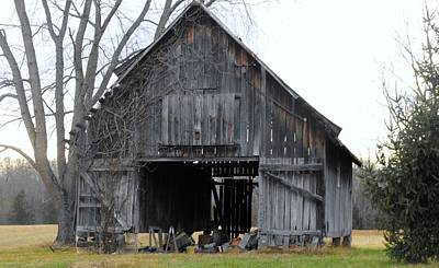 Indiana Barn 1 Print by Nelson Skinner