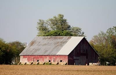 Indiana Barn 11 Print by Nelson Skinner