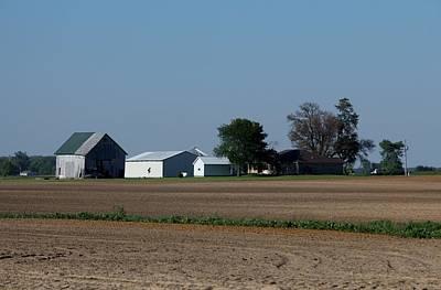 Indiana Barn 14 Print by Nelson Skinner