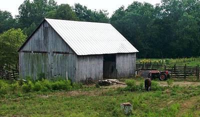 Indiana Barn 2 Print by Nelson Skinner