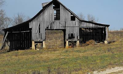 Indiana Barn 5 Print by Nelson Skinner
