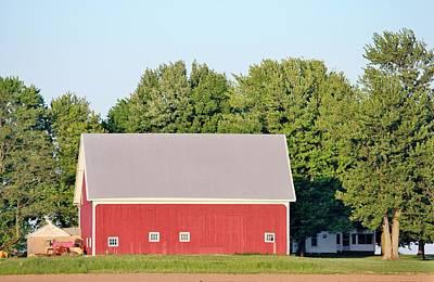 Indiana Barn 7 Print by Nelson Skinner