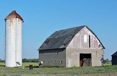 Indiana Barn 9 Print by Nelson Skinner