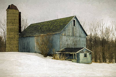 Photograph - Indiana Barn by Jerry Gammon
