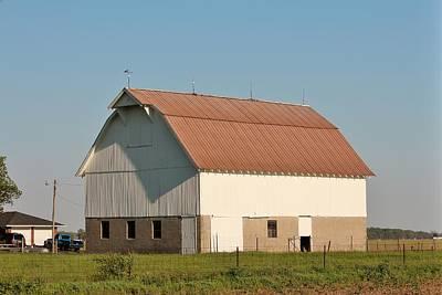 Indiana Farm Barn  Print by Nelson Skinner