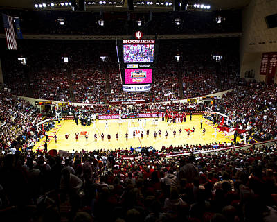 Indiana Hoosiers Assembly Hall Art Print by Replay Photos