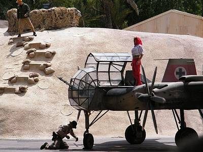Photograph - Indiana Jones Plane by Ronda Douglas