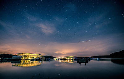 Indiana Lake Monroe Star Night Original by Matailong Du