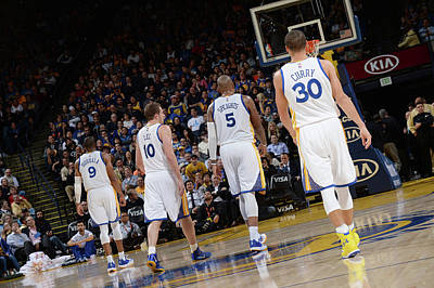 Photograph - Indiana Pacers V Golden State Warriors by Noah Graham