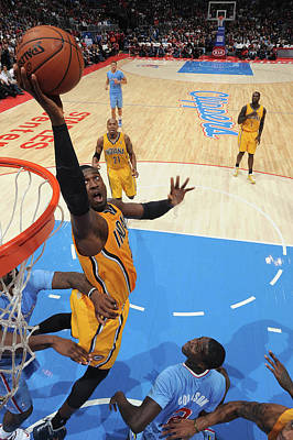 Photograph - Indiana Pacers V Los Angeles Clippers by Noah Graham