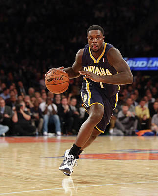 Photograph - Indiana Pacers V New York Knicks by Bruce Bennett