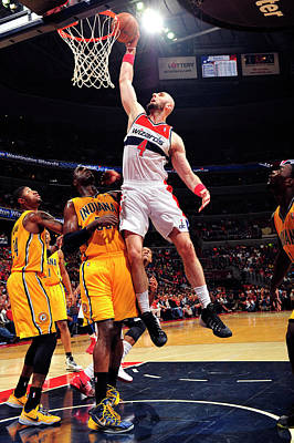 Photograph - Indiana Pacers V Washington Wizards - by David Dow