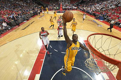 Photograph - Indiana Pacers V Washington Wizards by Jesse D. Garrabrant