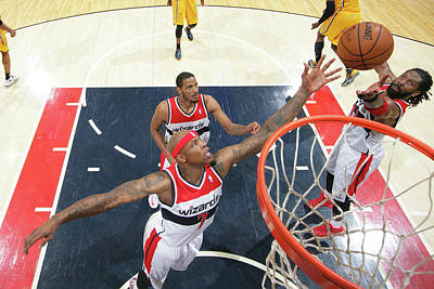 Photograph - Indiana Pacers V Washington Wizards - by Ned Dishman