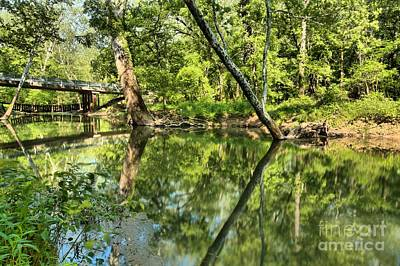 Photograph - Indiana Reflections by Adam Jewell