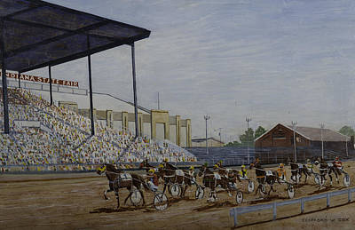 Indiana State Fair Art Print by Clifford Cox