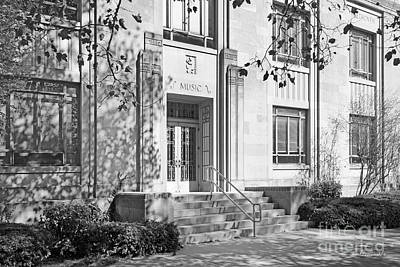 Indiana University Merrill Building Entrance Art Print by University Icons
