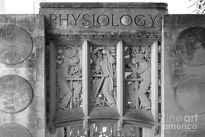 Indiana Photograph - Indiana University Myers Hall Physiology by University Icons