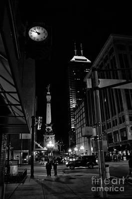 Indianapolis At Night Art Print
