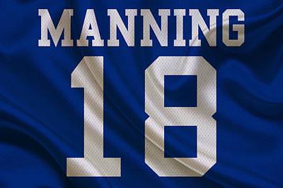 Indianapolis Photograph - Indianapolis Colts Peyton Manning by Joe Hamilton