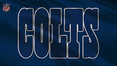Indianapolis Photograph - Indianapolis Colts Uniform by Joe Hamilton