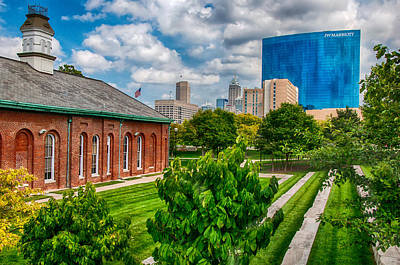 Photograph - Indianapolis From White River Park by Gene Sherrill