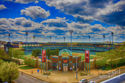 Photograph - Indianapolis Indians Victory Field by David Haskett