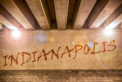 Photograph - Indianapolis by Semmick Photo