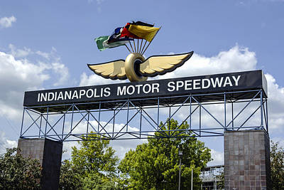 Indianapolis Speedway Art Print by Chris Smith