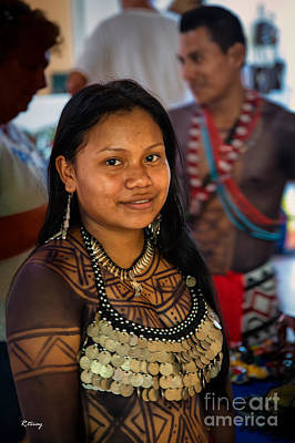 Photograph - Indigenous Indians From Panama by Rene Triay Photography