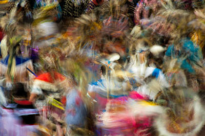 Photograph - Indigenous Unity Dance by Joan Herwig