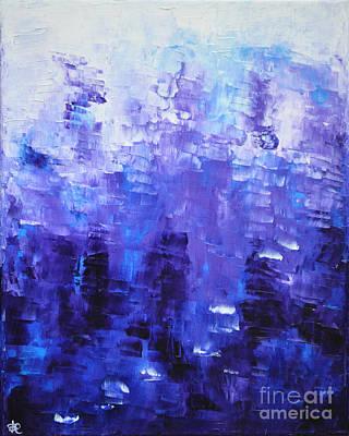 Painting - Blue Code by Belinda Capol