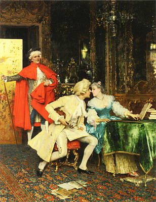 Indiscretion Art Print by Federico Andreotti