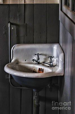 Wash Basins Photograph - Indoor Plumbing by Paul Ward