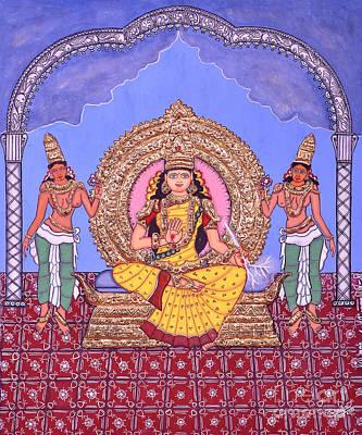 Painting - Indraakshi by Pratyasha Nithin