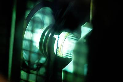 Plasma Photograph - Inductively Coupled Plasma Lamp by Crown Copyright/health & Safety Laboratory Science Photo Library