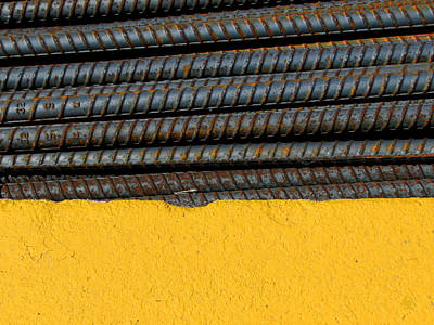 Photograph - Industrial Abstract by Ben Freeman