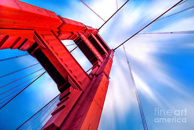 Golden Gate Photograph - Industrial Boom by Az Jackson