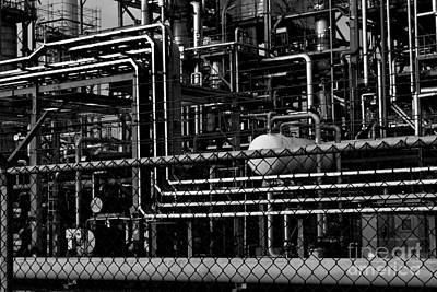 Art Print featuring the photograph Industrial Chaos by Maja Sokolowska