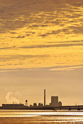 Photograph - Industrial Flight by Jon Exley