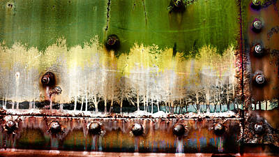 Photograph - Industrial Forest Abstract  by Gray  Artus