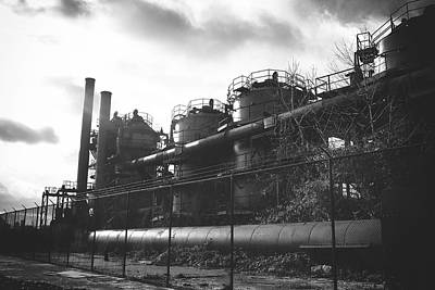Steampunk Royalty-Free and Rights-Managed Images - Industrial Gas Works by Tanya Harrison
