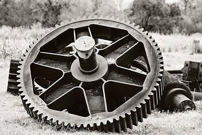 Industrial Gear Print by Scott Pellegrin