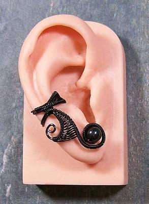 Ear Cuff Jewelry - Industrial Goth Lucky 7 Ear Cuff by Heather Jordan